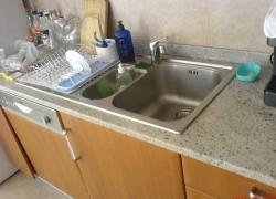 2202 кухн. плот - гранит с отвор за мивка