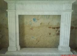 """1011 Отново облицовка, преди да напусне ателието на скулптура. Изпълнена е от бял гръцки мрамор """"Волокас""""."""
