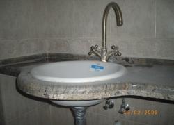 2209 Гранитен плот в баня.