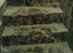 2406 Стъпала от кафяв мрамор ЕМПЕРАДОР